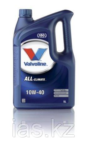 Моторное масло Valvoline All-Climate 10W40 5 литров