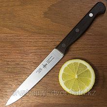 Нож кухонный ACE K3051BN Utility knife пластиковая ручка, коричневый