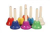 Набор цветных ручных колокольчиков FLIGHT FBELL-8H