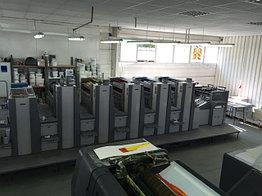 Sakurai Oliver 575 SDW+C б/у 2008г - пятикрасочная печатная машина