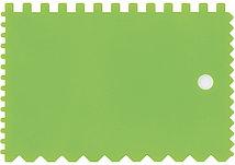 Шпатель для клея пластмассовый 90х130 мм зубчатый Сибртех 86017 (002)