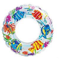 Надувной детский круг для плавания INTEX (61 cm) 59242NP