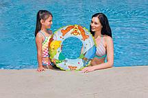 "Круг для плавания ""Винни Пух"" 61 см (58254) Intex"