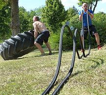 Канат для кроссфита 20 метров диаметр 50 мм., фото 3