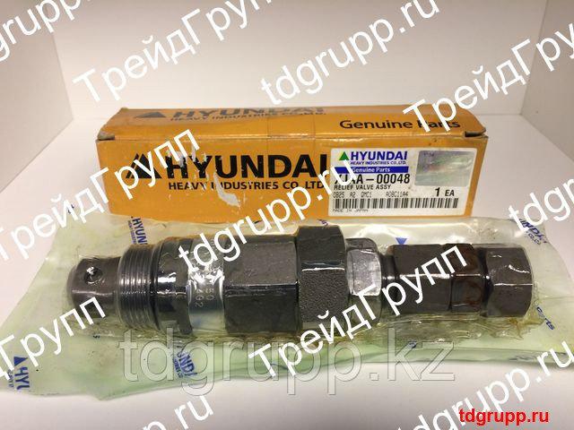 XJAA-00048 Клапан предохранительный Hyundai R500LC-7