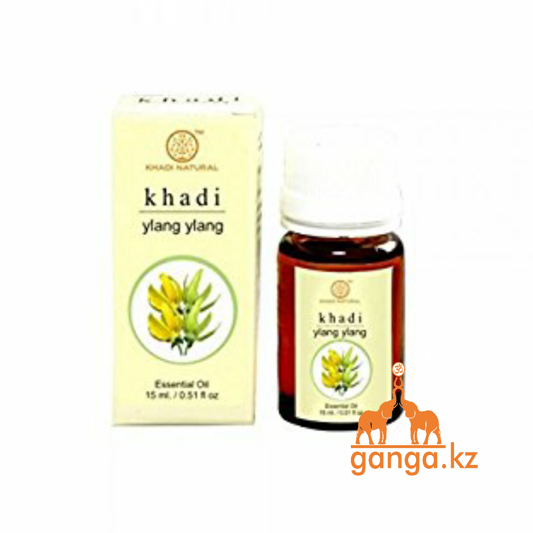 Натуральное эфирное масло Иланг Иланг (Essential Oil Ylang Ylang KHADI), 15 мл