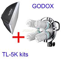 Постоянный свет Godox-Pioneer TL-5 + софтбокс 60*90 см