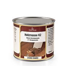 Шпаклёвка белая HOLZMASSE K2 transparent 2К, 125 мл