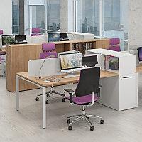 Стол совмещённый Workbench на 2х сотрудников, фото 1