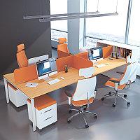 Стол совмещённый Workbench на 4х сотрудников