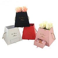 Коробка для цветов алматы, фото 1