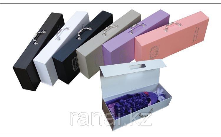 Подарочные коробки для цветов алматы - фото 4