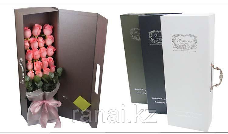 Подарочные коробки для цветов алматы - фото 1