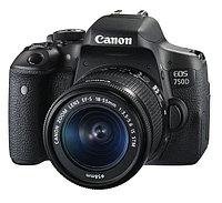 Зеркальный фотоаппарат Canon 750D Kit 18-55 IS STM