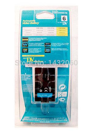 Аккумуляторы CGR-D28c для видеокамер PANASONIC, фото 2