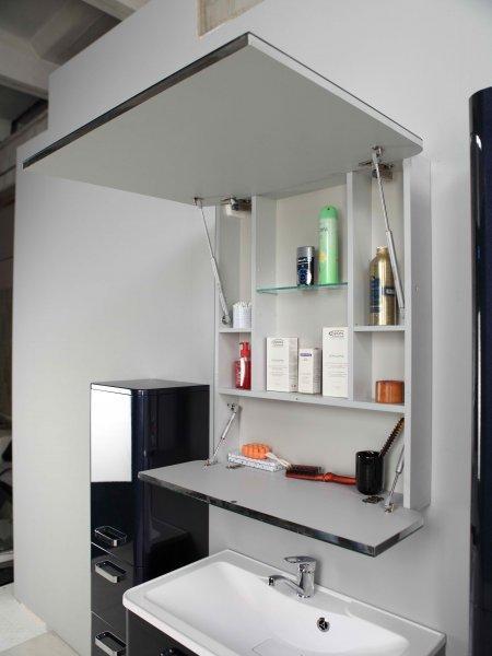 Зеркальный шкаф Акватон, ВАЛЕНСИЯ, 90 - фото 2
