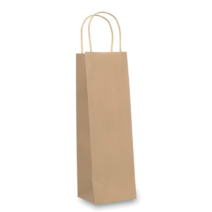 Бумажный пакет для вина