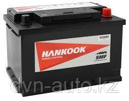 Аккумуляторы HANKOOK 55D23L 60AH