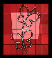 Электрический полотенцесушитель Двин «Butterfly»