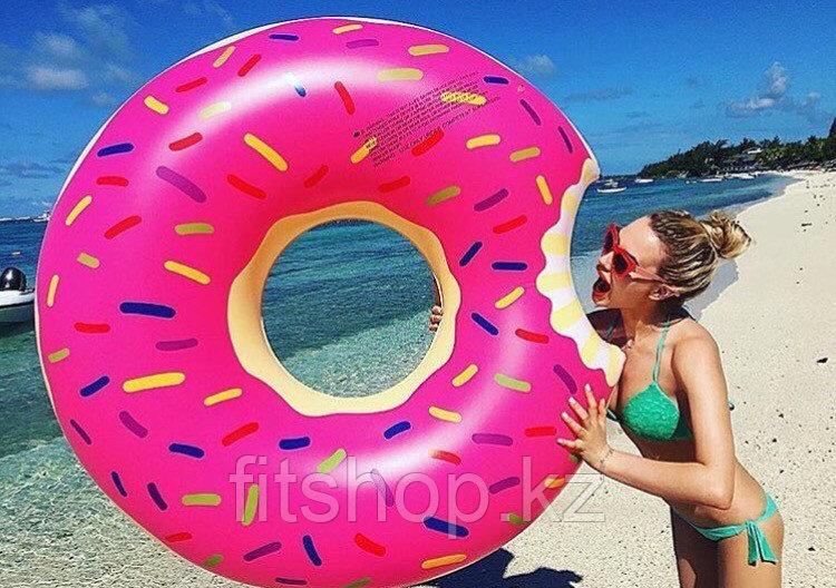Надувной пончик  для пляжного отдыха