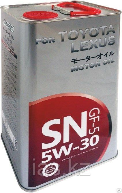 Моторное масло FANFARO for TOYOTA LEXUS 5W30 4 литра