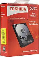 Жесткий диск для ноутбука 2,5'' 500 Гб (Toshiba L200)