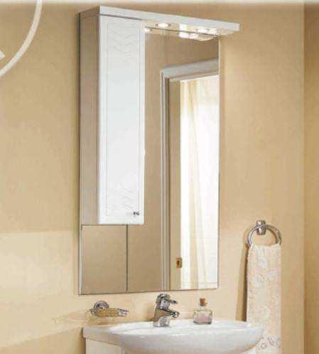 Зеркальный шкаф, ДОМУС, 95, правый - фото 1