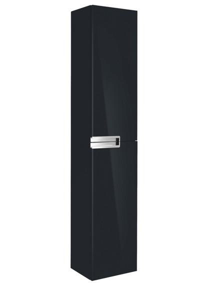 Шкаф-пенал Roca Victoria Nord Black Edition ZRU9000095 черный - фото 1