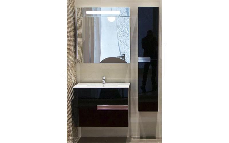 Зеркальный шкафчик Roca Victoria Nord ZRU9000098 60х80 черный - фото 2