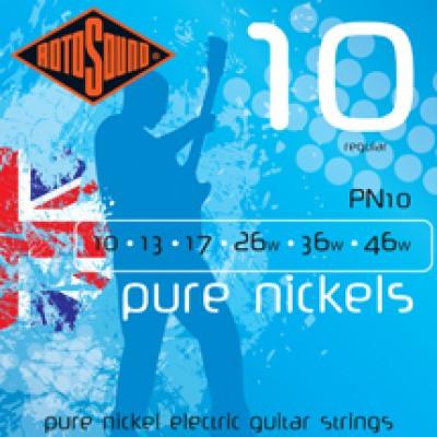 Струны для электро гитары ROTOSOUND PN10 STRINGS NICKEL