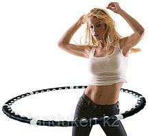 Утяжелённый массажный обруч с магнитами «HOOP»