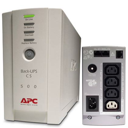 UPS (ИПБ) APC BACK CS 500VA RS