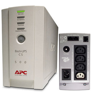 UPS (ИПБ) APC BACK CS 500VA RS