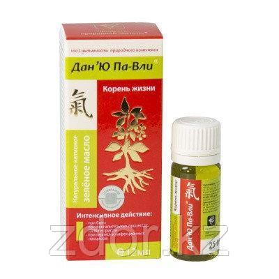 Зелёное масло Дан 'Ю Па-Вли (при ОРВИ), фото 2