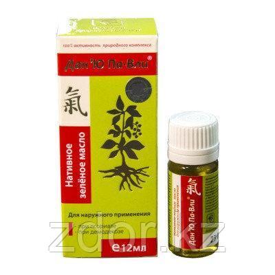 Зелёное масло Дан 'Ю Па-Вли (при псориазе и демодекозе)