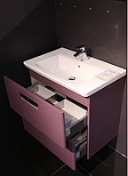 Комплект: Раковина + Тумба THE GAP фиолетовый 60 см (Z.RU93.0.274.2 ), (7.3274.7.200.0)