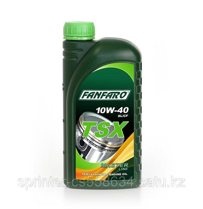 Моторное масло FANFARO TSX 10W40 1 литр