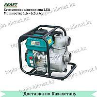Бензиновая мотопомпа для чистой воды LEO LGP15