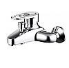 Смеситель Bravat Loop F6124182CP-01-RUS для ванны с коротким изливом