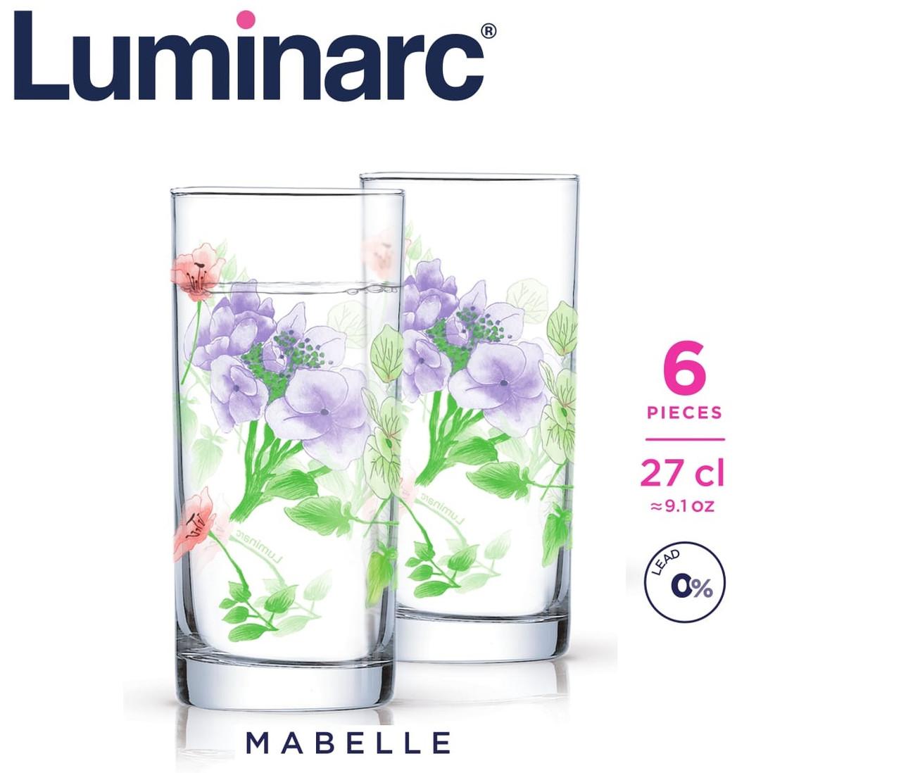 Стаканы Luminarc Mabelle высокие 270 мл (6 шт.)