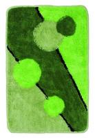 Коврик зеленый/круги Аквалиния 40*60 (31)