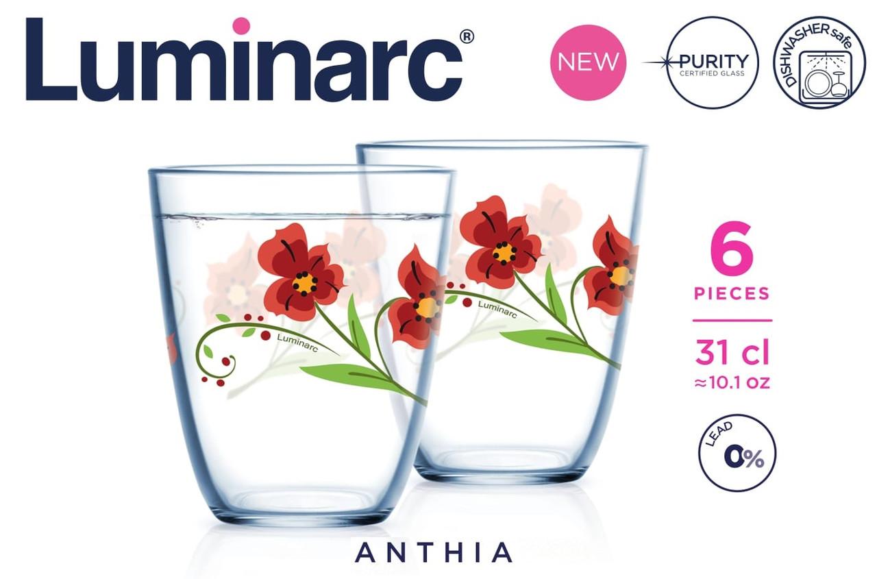 Набор стаканов Luminarc Neo Anthia 310 мл (6 шт)