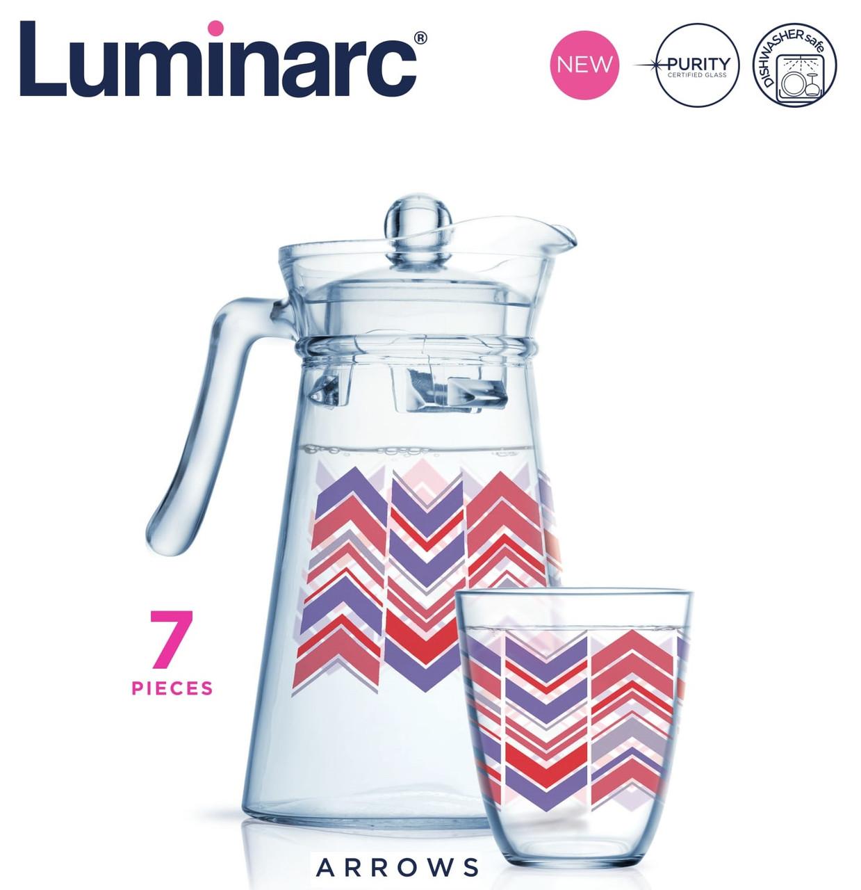 Набор для напитков Luminarc Neo Arrows (7 пр)