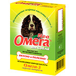«Омега Neo» для собак с морскими водорослями  90таб