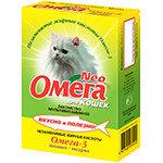 «Омега Neo» для кошек с биотином и таурином  90таб