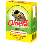 «Омега Neo» для грызунов с биотином  50гр
