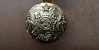 Маленькая пуговица, с гербом РК