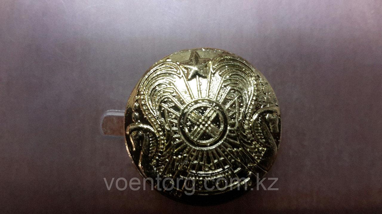 Большая пуговица, с гербом РК