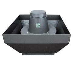 Крышные центробежные вентиляторы серии TR E-V, с вертикальным выбросом воздуха.