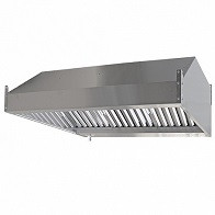 Зонт вытяжной пристенный ЗВ-П10/08 1000х800х350мм (жироуловитель)